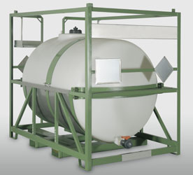IBC 3000 liter an efficient solution for transportation of dangerous goods
