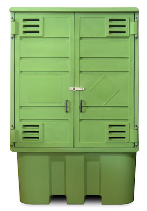 outdoor IBC storage cabinet,