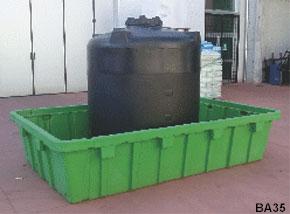 Vasche In Plastica Grandi Dimensioni.Grandi Vasche In Plastica A Fondo Piatto Da 300 A 5000 Litri