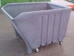 plastic double wall cart